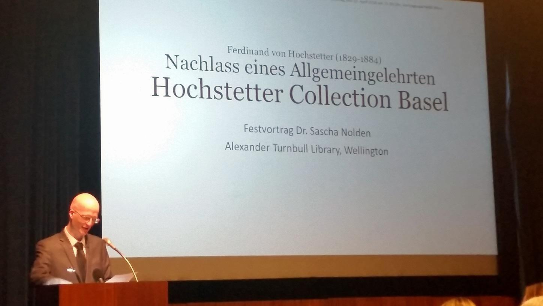 Der Nachlaß von Ferdinand von Hochstetter (1829-1884) geht an das Naturhistorische Museum Wien