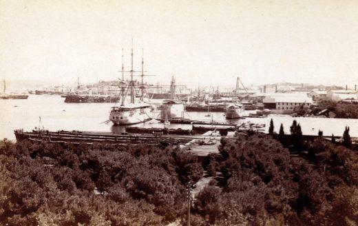 Alois Beer Nr. 2179: Pola Hafen Panorama