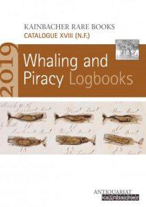 Antiquariatskatalog: Sammlung von Logbüchern von Walfangschiffen