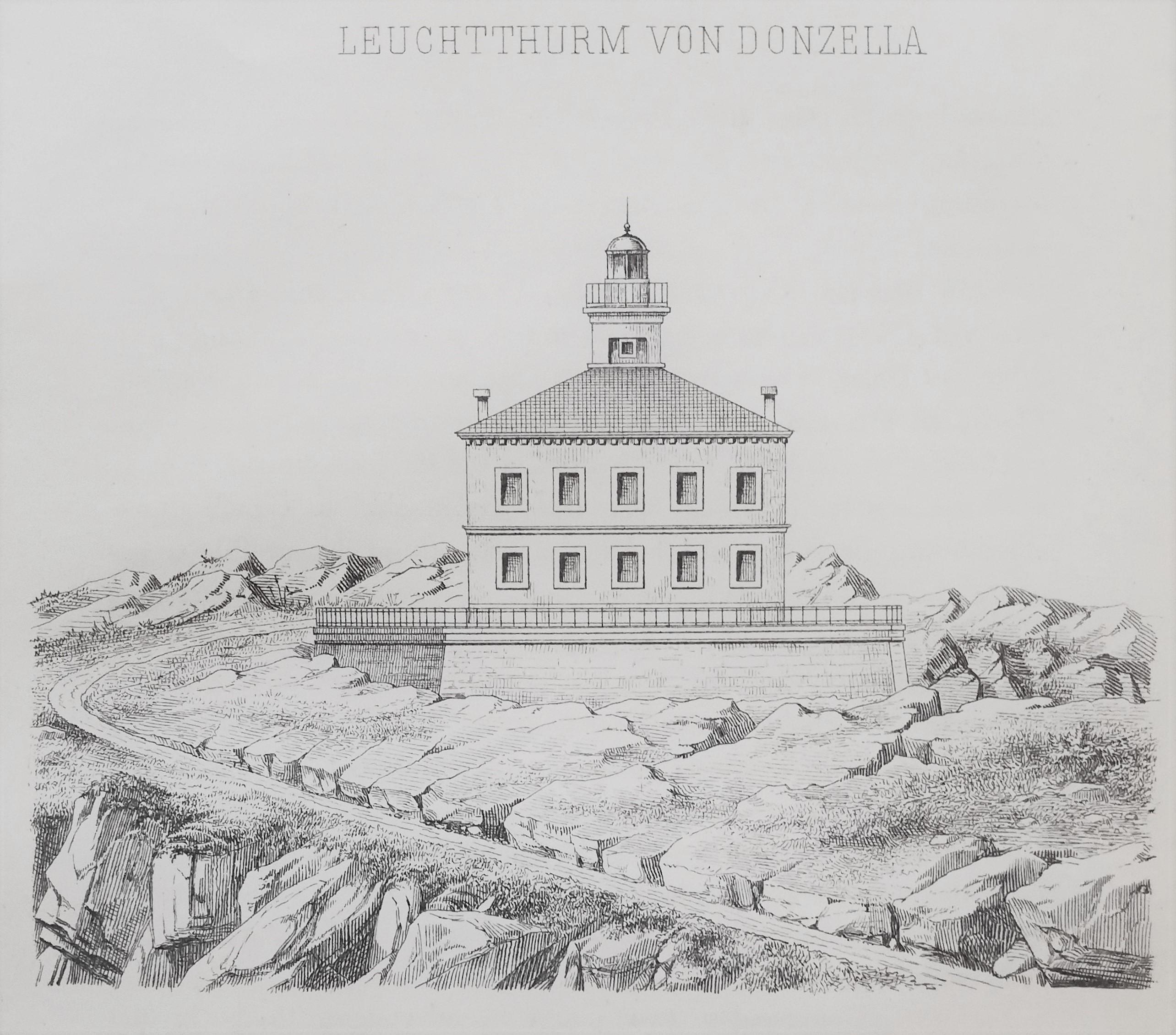 Leuchtturm auf Donzella (heute Sveti Andrija)