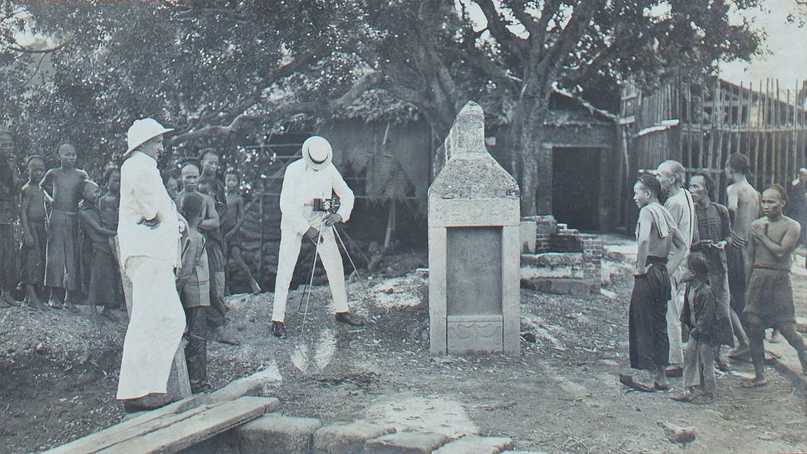 Bild aus dem Erinnerungsalbum des Korvettenkapitäns Hermann Brunswig.
