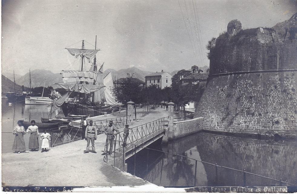 Franz Laforest: Hafen von Cattaro