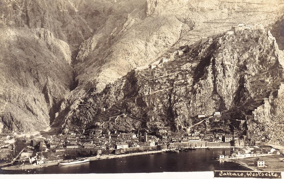 Franz Thiard de Laforest: Westseite von Cattaro