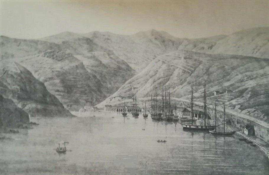 Jakob Alt: Veduta del Nuovo Lazzaretto in Martinschizza (um 1840)