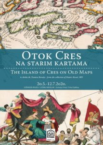 Die Insel Cres auf alten Karten - aus der Sammlung von Dr. Damir Kovač
