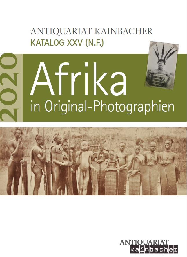 Antiquariatskatalog: Afrika in Original-Photographien
