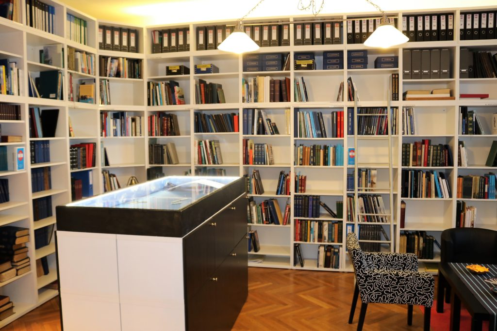 """Heinz Christ Bibliothek des Vereins """"K.u.K. Kriegsmarine - Archiv"""""""