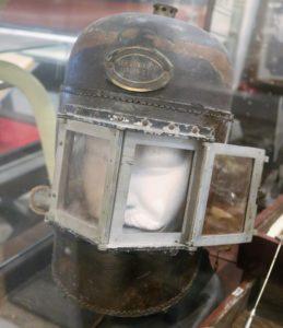 Rauchschutzhelm im Museum Gallerion Novigrad