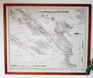 "Karte XII e-4 mit dem Titel ""Sebenico"""