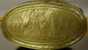 Tabakdose aus Holland, um 1700; Bildquelle: DSM