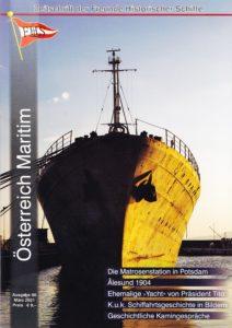 Ausgabe 80 der Fachzeitschrift Österreich Maritim