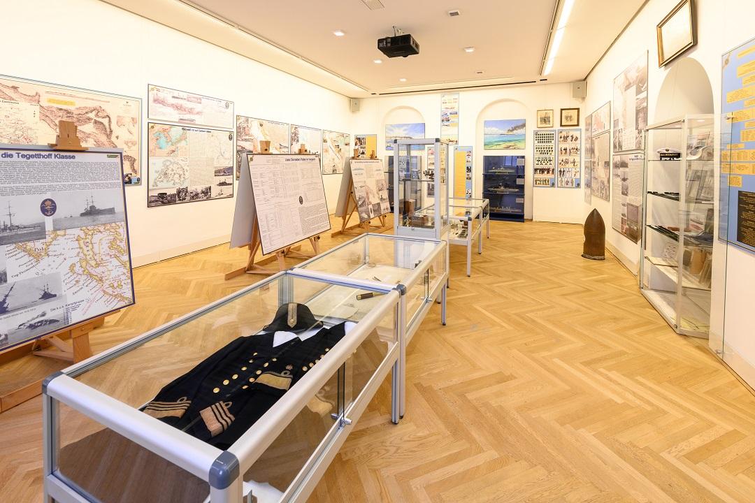 Ausstellung Flottenbesuch im Kaiserjägermuseum, Bildquelle: Wolfgang Lackner